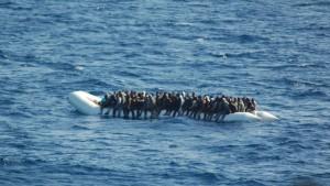 Schlepper bereiten Flüchtlingsroute nach Italien vor