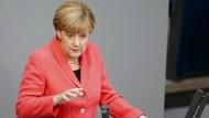 Merkel ruft zum globalen Kampf gegen Flucht und Vertreibung auf