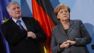Merkel und Seehofer einigen sich auf Transitzonen
