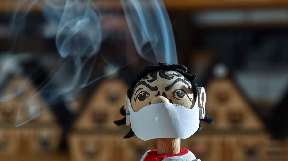 Da raucht der Kopf: Räuchermännlein, neueste Version