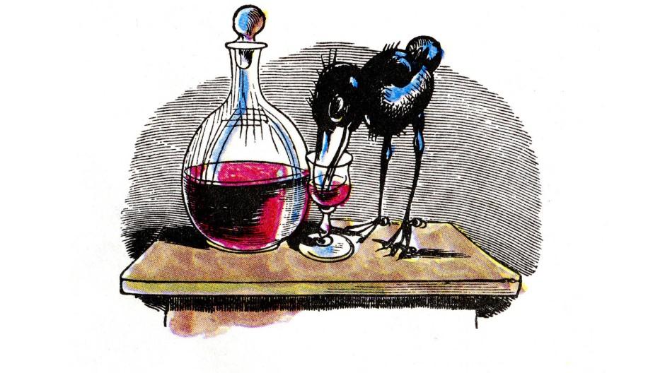 Nur einen wönzigen Schlock: Alkohol ist gut gegen Viren.