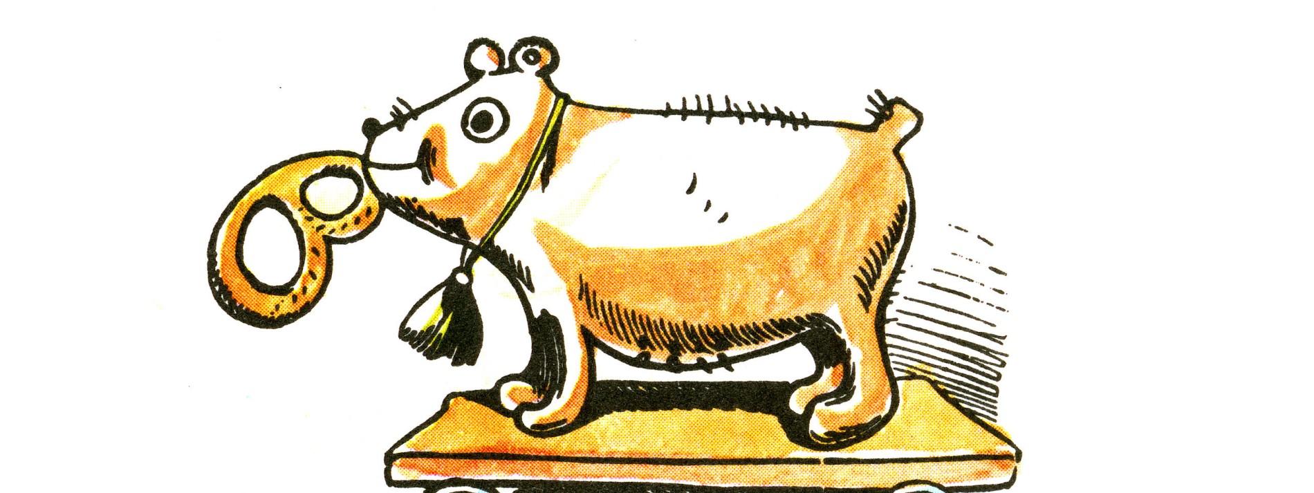 A Hund is er scho