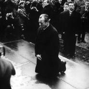 Willy Brandts Kniefall in Warschau im Dezember 1970