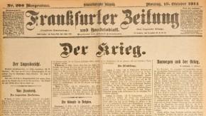 Historisches E-Paper zum Ersten Weltkrieg: Die Flüchtlinge