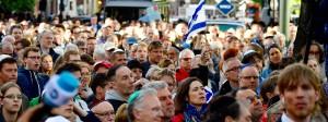 Das Tragen der Kippa als Zeichen gegen jeden Antisemitismus: Berlin solidarisierte sich.