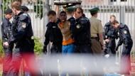 Wegen Hausfriedensbruchs: Räumung des Bundesamts für Migration und Flüchtlinge am Freitag in Nürnberg