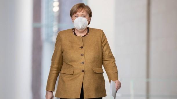 Merkel will Öffnungsschritte mit umfangreichen Tests absichern