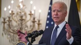 """Biden: Corona-Falschinformationen """"bringen Menschen um"""""""