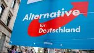 """Die AfD war noch zur Bundestagswahl 2013 als """"Anti-Euro-Partei"""" bekannt."""