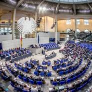 Abgeordnete im Bundestag im November 2017