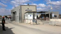 Grenzübergänge zum Gazastreifen unter Beschuss geraten