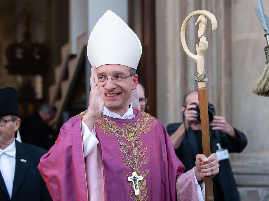 Der Fuldaer Bischof Michael Gerber bei seiner Amtseinführung im März 2019