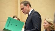 Große Bühne: Michael Müller während der Bundesratssitzung am Freitag