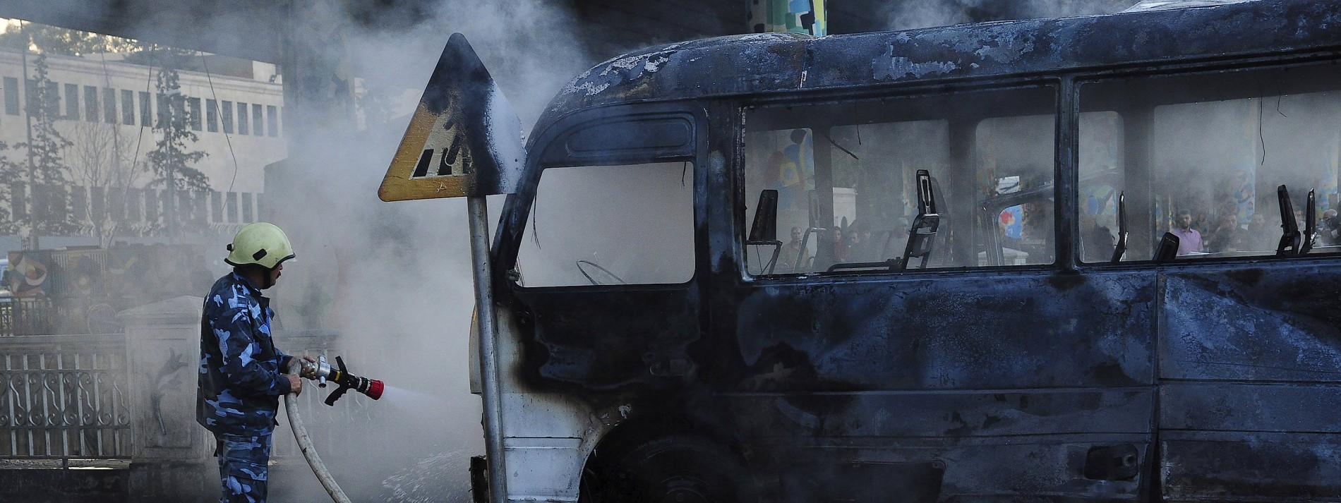 Mindestens 14 Tote bei Anschlag in Damaskus