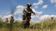 Soldaten des KSK am 4. Juli bei einer Übung in Trollenhagen (Symbolbild)