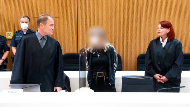 Rechtsterroristin muss für sechs Jahre ins Gefängnis