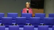 Nach dem Austritt: Erika Steinbach im März 2017 im Bundestag