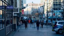 Deutsche Polizei, die Telefonauskunft für Drohbriefschreiber
