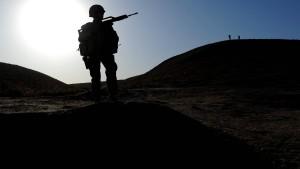 Zahl der Soldaten mit Kriegstraumata bleibt hoch