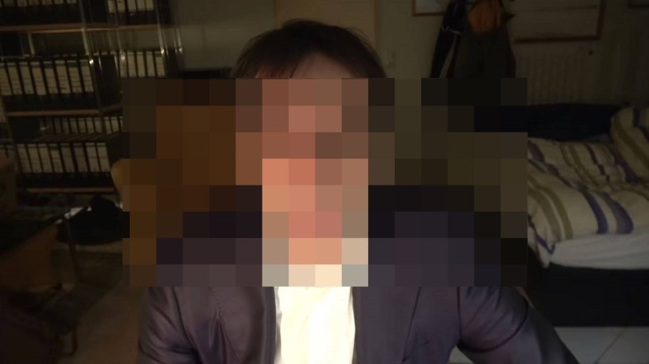Der mutmaßliche Attentäter Tobias R. in seinem Video