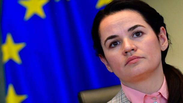 Belarussische Oppositionelle für Friedensnobelpreis vorgeschlagen