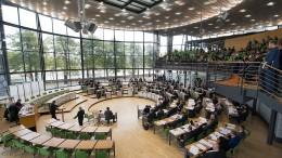 Glasnost im Dresdner Landtag