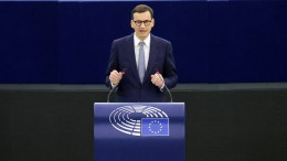 """Morawiecki wirft EU """"Erpressung"""" vor"""