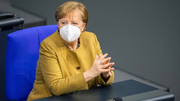 Aussprache im Bundestag nach Merkels Regierungserklärung
