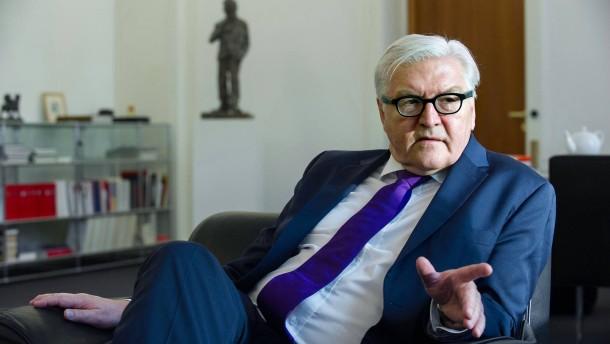 Steinmeier ruft Union zur Raison