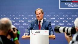Die CDU setzt auf Sicherheit