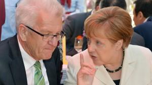 Kretschmann für Merkel