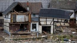 Kein Empfang im Katastrophengebiet