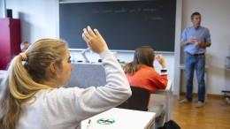 Gewalt gegen Lehrer steigt