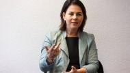 Die Grünen-Vorsitzende Annalena Baerbock ist für die konsequente Durchsetzung des Rechtsstaats.