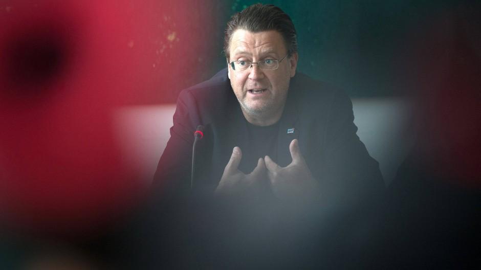 Vor Gericht gezogen: AfD-Justiziar Stephan Brandner