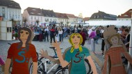 Friedlich: Friedensfest auf dem Ostritzer Marktplatz