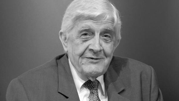 Burkhard Hirsch gestorben