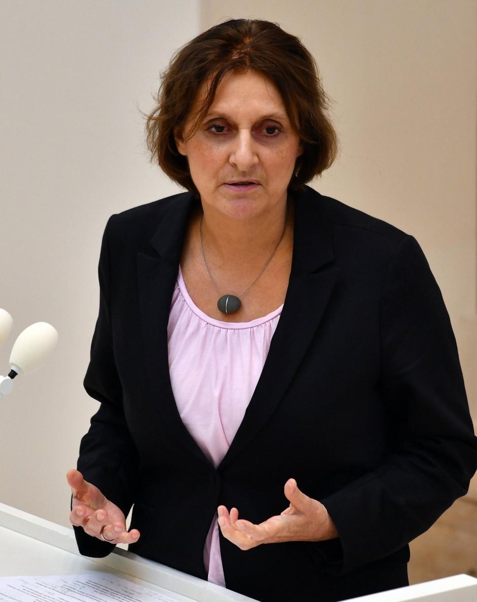 Britta Ernst (SPD), Ministerin für Bildung, Jugend und Sport in Brandenburg und Präsidentin der Kultusministerkonferenz