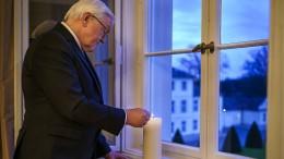 """Steinmeier ruft zu Aktion """"Lichtfenster"""" auf"""