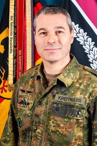 Markus Kreitmayr, commander of the KSK