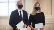 Adrian Pollmann und Natalie Kauther traten im Juli ihre Stelle als Botschafter in Slowenien an.