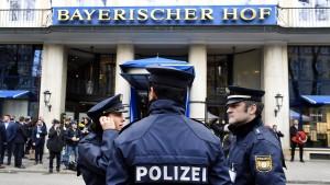Münchner Sicherheitskonferenz verschoben
