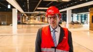 Ohne glückliche Hand: Karsten Mühlenfeld, Vorsitzender der Geschäftsführung der Flughafengesellschaft Berlin-Brandenburg.