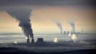 Kohle gegen Klima: Luftaufnahme des Braunkohlenkraftwerks Schwarze Pumpe