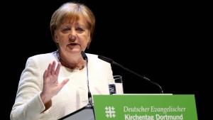 Merkel ruft zu Kampf gegen Rechtsextremismus auf