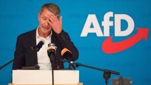 Mögliche Höcke-Kandidatur in Partei umstritten