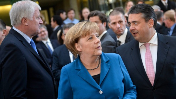 Merkel: Habe volles Vertrauen in Gabriel