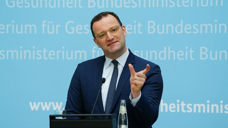 Jens Spahn am Freitag in Berlin