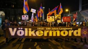 Regierungspolitiker gelassen wegen Folgen der Völkermords-Einstufung