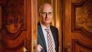 Angekommen: Hamburgs Erster Bürgermeister Peter Tschentscher.
